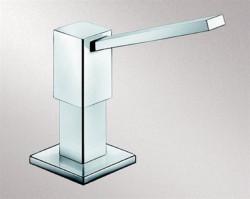 Blanco Quadris zeepdispenser RVS zijdemat 517590