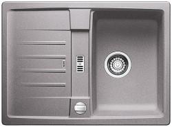 Blanco spoelbak Lexa 40 S Manueel opbouw alumetallic 518633