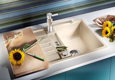 Blanco spoelbak Lexa 40 S Automatisch opbouw jasmijn 518626