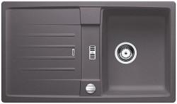 Blanco spoelbak Lexa 45 S Automatisch opbouw rock grey 518858