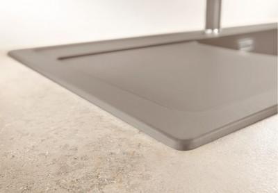Blanco spoelbak Zenar 45 S BL opbouw rock grey 518925