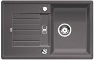 Blanco spoelbak Zia 45 S automatisch opbouw rock grey 518936