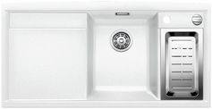 Blanco spoelbak Axia II 6 S opbouw links wit 516832