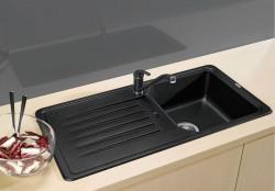 Blanco spoelbak Favos Automatisch opbouw antraciet 516613