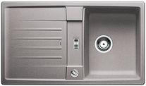 Blanco spoelbak Lexa 45 S Automatisch opbouw alumetallic 514653