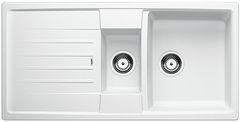 Blanco spoelbak Lexa 6 S Manueel opbouw wit 514678