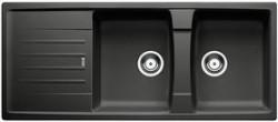 Blanco spoelbak Lexa 8 S Manueel opbouw antraciet 514716