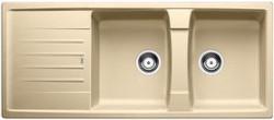 Blanco spoelbak Lexa 8 S Manueel opbouw champagne 514712