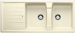Blanco spoelbak Lexa 8 S Manueel opbouw jasmijn 514711