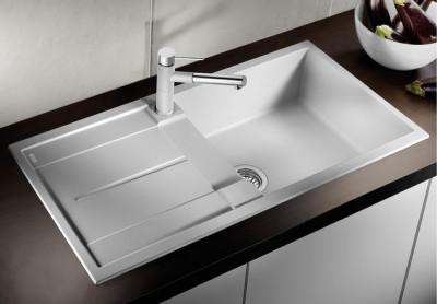 Blanco spoelbak Metra XL 6 S Manueel opbouw wit 515136