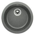 Blanco spoelbak Rondo opbouw alumetallic 511704