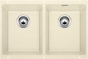 Blanco spoelbak Subline 350/350-U manueel onderbouw jasmijn 518596
