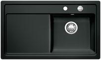 Blanco spoelbak Zenar 45 S BL opbouw zwart 517203