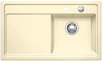 Blanco spoelbak Zenar 45 S BL opbouw vanille 517193