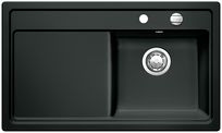Blanco spoelbak Zenar 45 S BR opbouw zwart 517202