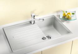 Blanco spoelbak Zia 45 SL manueel opbouw wit 516740