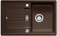 Blanco spoelbak Zia 45 S automatisch opbouw cafe 515069