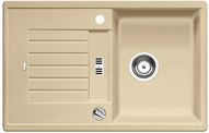 Blanco spoelbak Zia 45 S automatisch opbouw champagne 514720