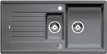 Blanco spoelbak Zia 6 S automatisch opbouw alumetallic 514733