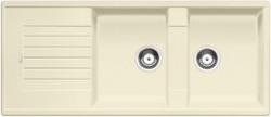 Blanco spoelbak Zia 8 S manueel opbouw jasmijn 515598