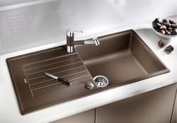 Blanco spoelbak Zia XL 6 S manueel opbouw cafe 517577