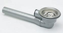 Franke afvoergarnituur waste met plug voor spoelbak met overloop aansluiting 1120049409