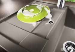 Blanco spoelbak Metra 45 S Compact Caf