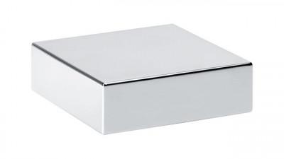 Franke draaiknop vierkant chroom 35mm 1330171327