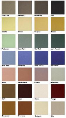 Terrazzo kleurenoverzicht
