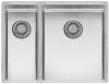 Reginox New York 1,5 RVS spoelbak 18x40 + 34x40 T09T5LLU08GDS R27844