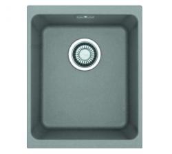 Franke spoelbak Fraceram Kubus KBG 110.34 Stone Grey onderbouw 1250023835