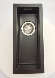 ABK Bingara BIN15fBL zwart emaille spoelbak 15 onderbouw KS51015005 goed