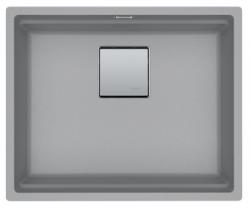 Franke Kubus KNG 110.52 spoelbak 52x42 grijs graniet onderbouw 1208862592