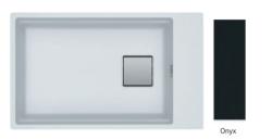 Franke Fragranite+ Kubus 2.0 KNG 110.62 Onyx onderbouw 1250512515