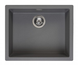 Reginox Amsterdam 50 Regi-graniet spoelbak grijs onderbouw en opbouw R30851