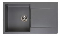 Reginox Amsterdam 10 Regi-graniet spoelbak grijs opbouw R30936