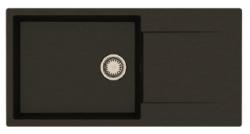 Reginox Amsterdam 540 Regi-graniet spoelbak wit opbouw R30790