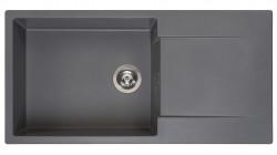 Reginox Amsterdam 540 Regi-graniet spoelbak grijs opbouw R30813
