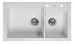 Reginox Amsterdam 25 Regi-graniet 1,5 spoelbak wit opbouw R30950