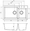 Reginox Amsterdam 25 Regi-graniet 1,5 spoelbak wit opbouw R30950 kloon 02-05-2018 01:05:32