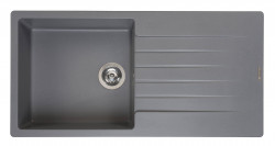 Reginox Harlem 10 Regi-graniet spoelbak grijs opbouw R31261