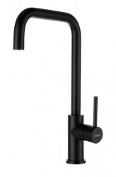 Lorreine MEDWAY-BLACK keukenkraan volledig roestvrijstaal met draaibare uitloop zwart 1208916642