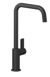 Reginox Pearl keukenkraan met draaibare uitloop mat zwart K1025K R31575