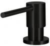 Lorreine Dender zeepdispenser rvs volledig roestvrijstaal zwart mat 1208920476