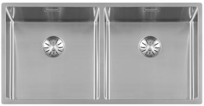 Lorreine Superplug 4040SP rvs dubbele spoelbak 4040cm 1208920516