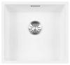 Lorreine Color-R witte rvs spoelbak 40cm 40R-CLR-WHITE wit 1208920525
