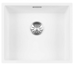 Lorreine Color-R witte rvs spoelbak 45cm 45R-CLR-WHITE wit 1208920526