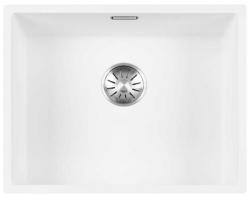 Lorreine Color-R witte rvs spoelbak 50cm 50R-CLR-WHITE wit 1208920528