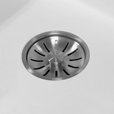 Lorreine Color-R witte rvs spoelbak 55cm 55R-CLR-WHITE wit 1208920529