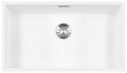 Lorreine Color-R witte rvs grote spoelbak 74cm 74R-CLR-WHITE wit 1208920530